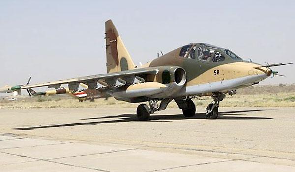 Un caza iraquí Sukhoi Su-25 aterriza en el aeropuerto militar de Bagdad / E.P.