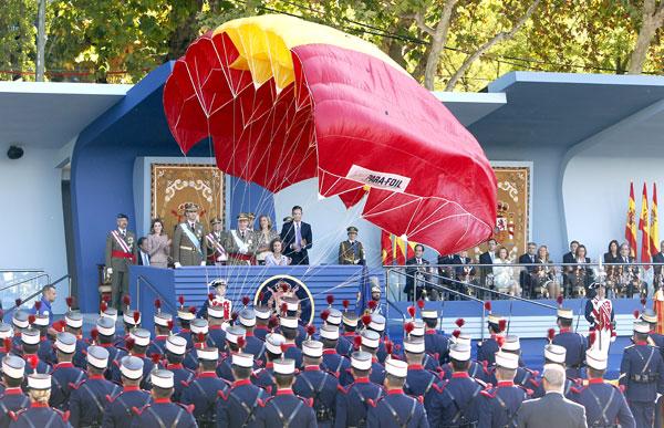 Desfile de las Fuerzas Armadas del 12 de octubre. / EFE