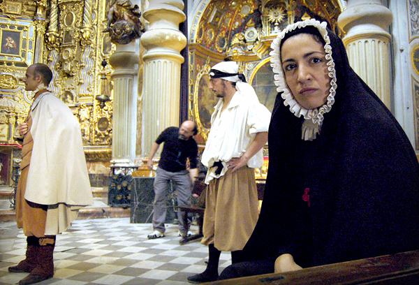 Iglesia de San Luis de los Franceses, representación de Don Juan Tenorio / Ana Quesada