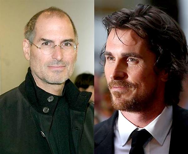 Steve Jobs (i) y Christian Bale. / El Correo