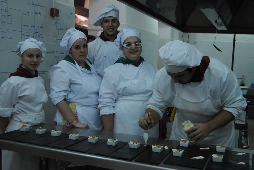 Las habitaciones del antiguo Centro de Menores Santa Teresa de Jesús alberga ahora las aulas de los futuros chefs de la Campiña. Foto: M. M.