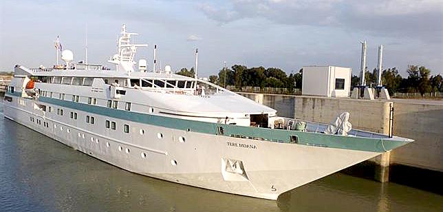 Crucero 'Tere Moana'. / El Correo