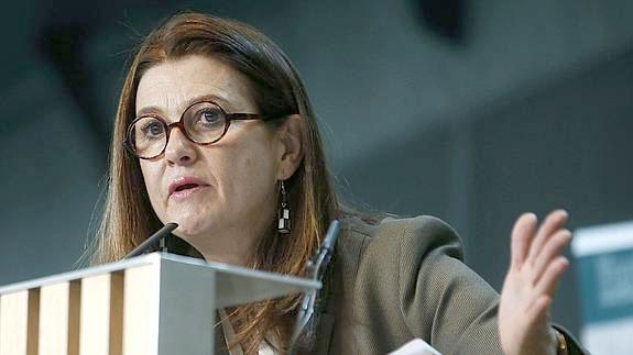 La presidenta del Círculo de Empresarios, Mónica de Oriol. / EFE