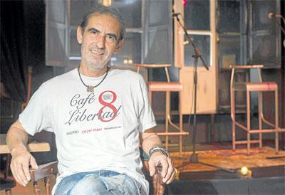 Alfonso del Valle, presidente de la Asociación cultural Conciertos en Sevilla. / J.M.Paisano