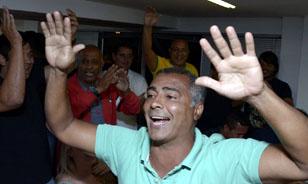 Romario, elegido senador por Río de Janeiro