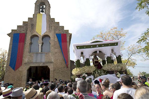 Romería de Valme 2015 en Dos Hermanas. / Foto: J.M.Paisano