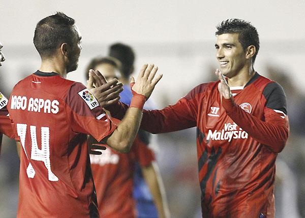Sabadell - Sevilla FC. / EFE