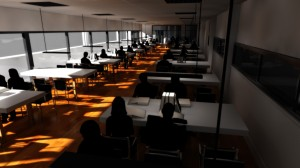Sala de estudio.