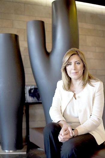 La presidenta de la Junta, Susana Díaz. / Pepo Herrera