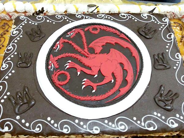 El blasón de la Casa Targaryen.