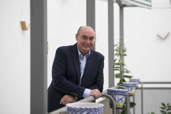 Carlos Ruiz es secretario autonómico de ECA. / J.M. Paisano