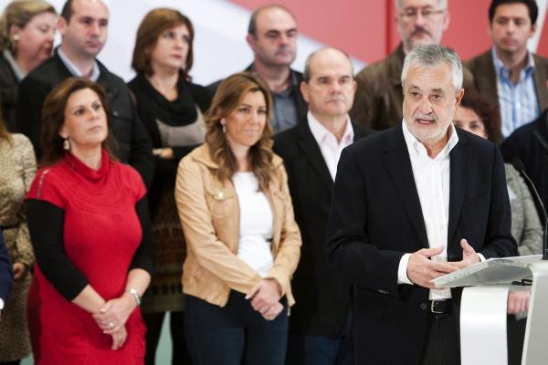 REUNIÓN DE LA EJECUTIVA REGIONAL DEL PSOE ANDALUZ