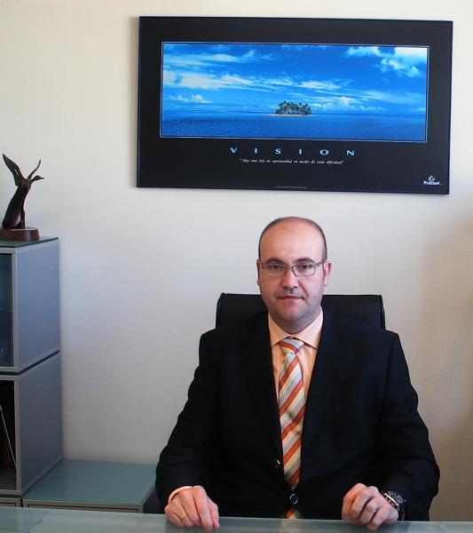 Alfonso Serrano, director general de la compañía Procavi. / EL CORREO