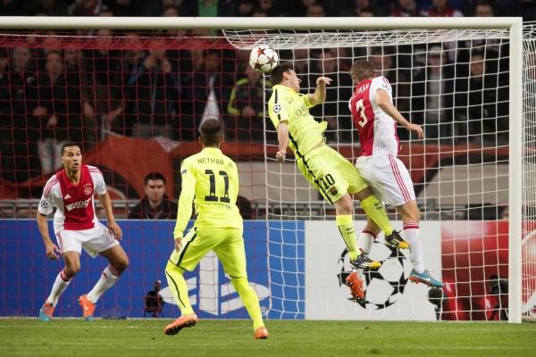 AJAX VS. FC BARCELONA