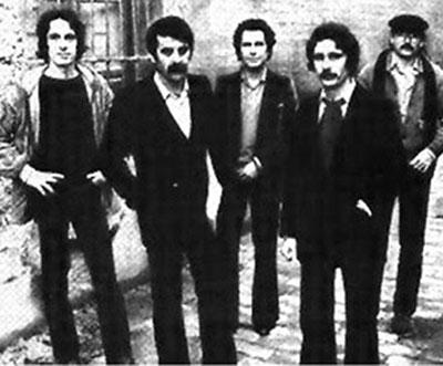 Alameda, en su formación de 1979. / El Correo