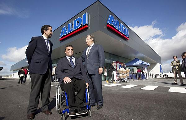 Inauguración de Aldi en el parque Higuerón Sur. / Pepo Herrera