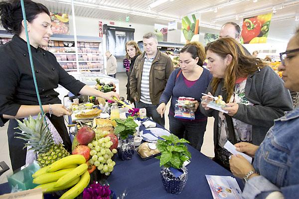 Interior del supermercado Aldi. / Pepo Herrera