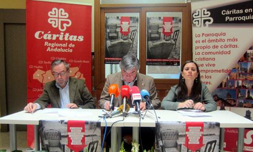 Cáritas Regional de Andalucía presenta la campaña de los sin hogar