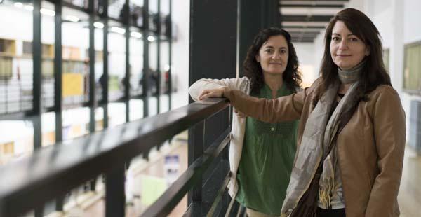 Charo Gómez y Carmen Rodríguez son las coordinadoras del campo de energía de Sevilla de la Economía del Bien Común. / J.M. Paisano