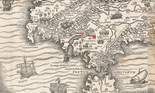 Imagen 05 SEVILLA EN EL MAPA DE ESPA+æA DE (16472777)