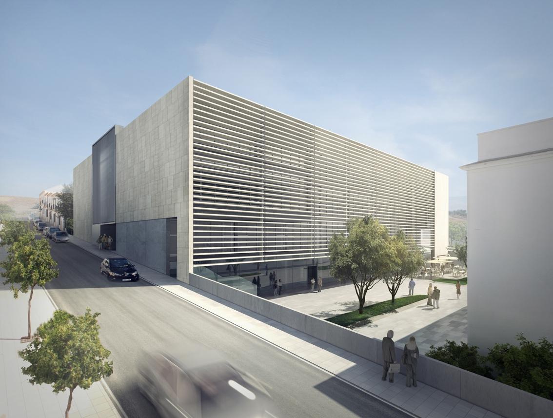 Recreación virtual del edificio que albergará el Centro de Recursos y Aprendizaje del Medio Rural. / El Correo