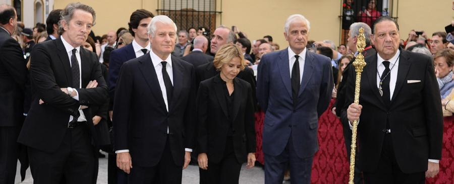LAS CENIZAS DE LA DUQUESA DE ALBA REPOSAN EN LA CAPILLA DE LOS GITANOS