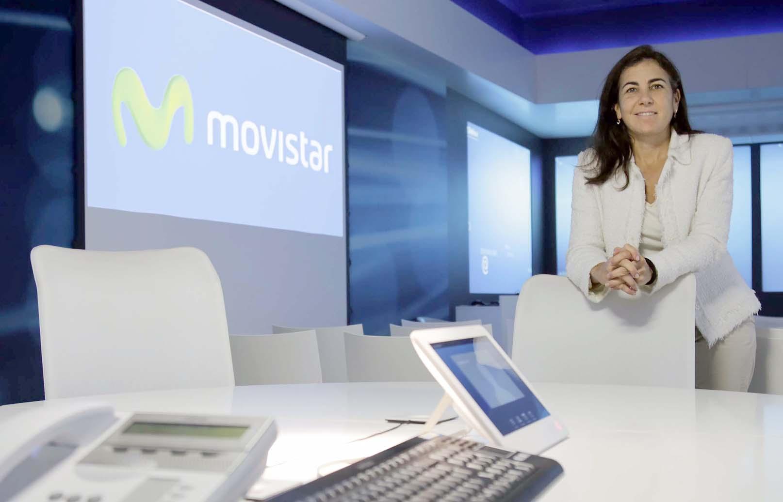María Jesús Almazor está al frente de la Territorial Sur de Telefónica. / José Luis Montero