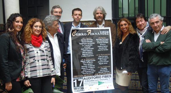 Presentación del homanaje a Curro Fernández