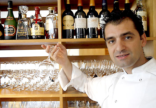El chef de Abantal Julio Fernández. / Javier Cuesta