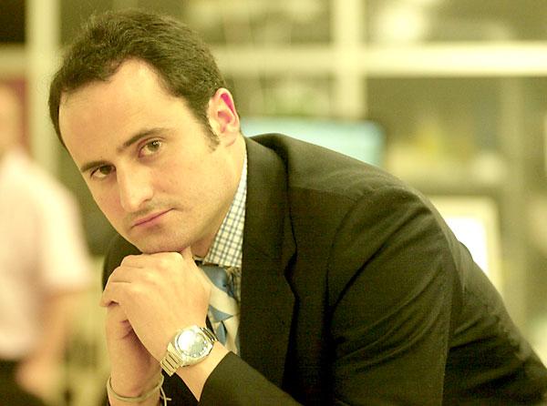 El periodista Álvaro Rodríguez del Moral.