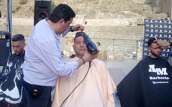 Un acto similar realizaron en Málaga. / M.G.