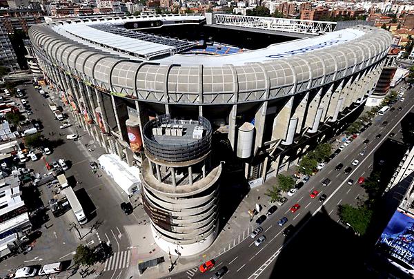 Estadio Santiago Bernabéu. / El Correo