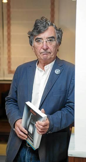 Arsenio Moreno ha pasado a novela lo que nación como teatro. / Carlos Hernández