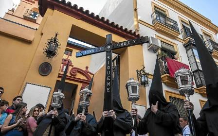 Sevilla 14/04/2014 Semana Santa. Vera-CruzFoto: J. M. Paisano