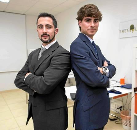 Sevilla 13 11 2014: Jovenes emprendedores de Enerbol.Foto: J.M.Paisano