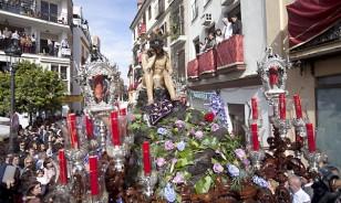 El Cristo de la Humildad y Paciencia, de la hermandad de La Cena. / Estefanía González