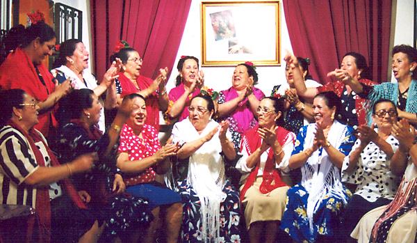 Una de las imágenes de la exposición del flamenco como Patrimonio Cultural Inmaterial de la Humanidad. / E.P.