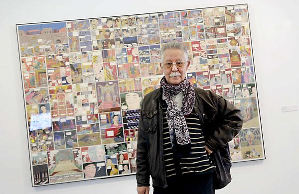 Nazario, una leyenda del cómic y la ilustración que comenzó a dibujar en Sevilla antes de afincarse en Barcelona. / Fotos: Carlos Hernández