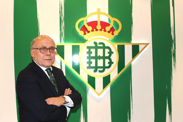 Juan Carlos Ollero, presidente del Betis. Foto: RBB.