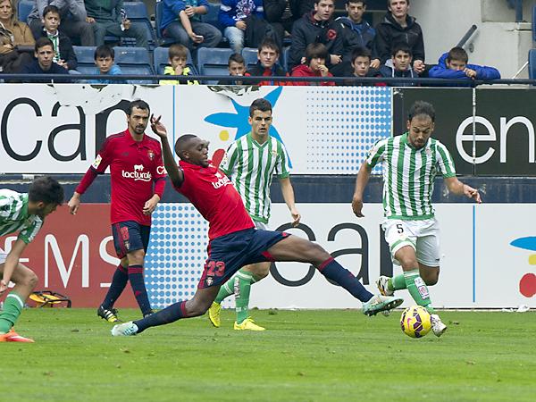 Osasuna - Real Betis. / Foto: LOF
