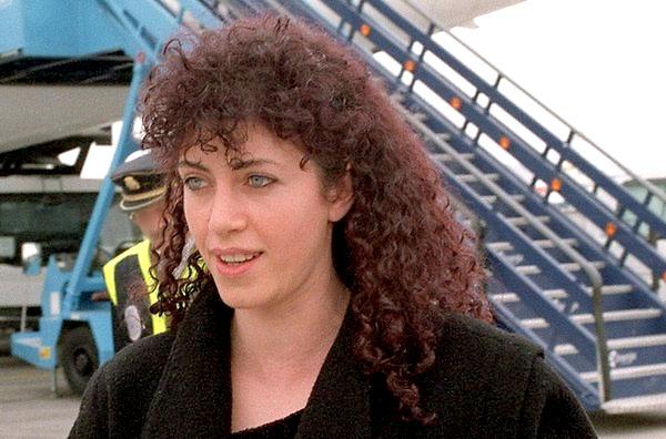 Idoia López Riaño, 'La Tigresa', en una imagen de 2001. / EFE