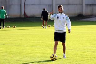 Álvaro Vadillo, en un entrenamiento.