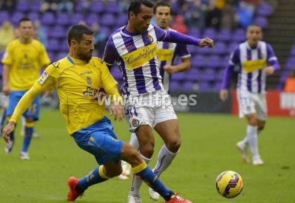 Partido entre Valladolid y UD Las Palmas. Foto: LFP