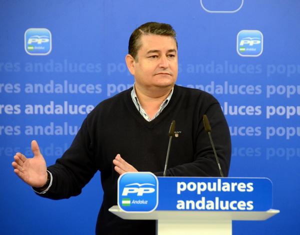 Antonio Sanz, durante la rueda de prensa celebrada ayer en Sevilla. / EFE