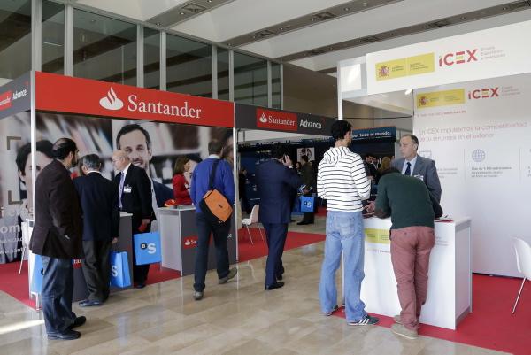 Extenda y Moneda Única organizan IMEX Andalucía, la feria de negocio internacional, en el hotel Barceló Renacimiento.