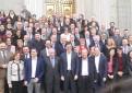 Último pleno del Congreso de Alfonso Guerra. / EFE