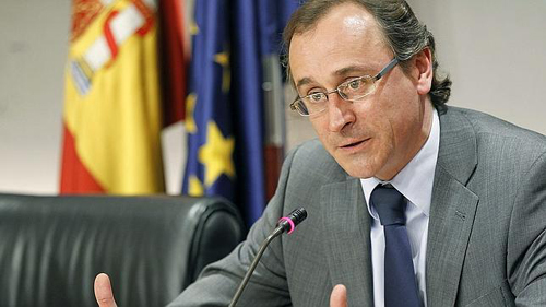 Alfonso Alonso ministro Sanidad