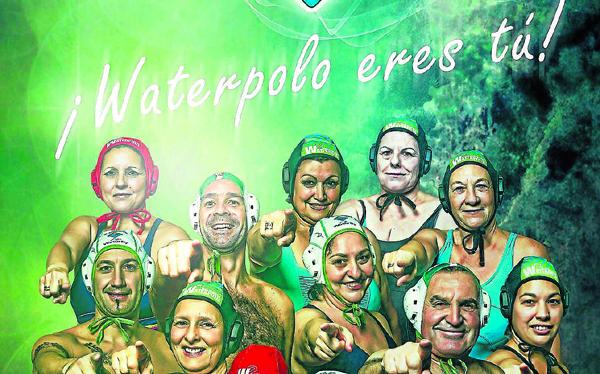 El cartel con el que el CW Dos Hermanas-EMASESA pretende captar abonados. / EDD