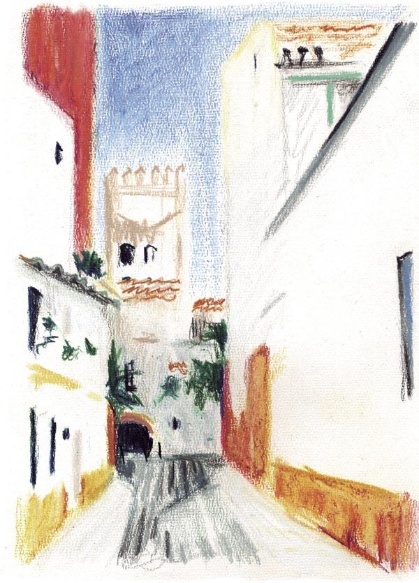 Imagen cedida por Gupo Pandora de una Ilustración incluida en una edición de 'Ocnos'. / EFE