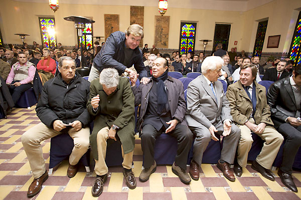 Venta de Antequera. cumbre taurina que ha organizado la Unión de Criadores de Toros de Lidia. / Pepo Herrera